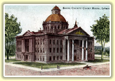 Boone County, Indiana Courthouse