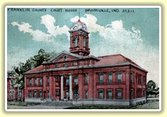 Franklin County, Indiana Courthouse
