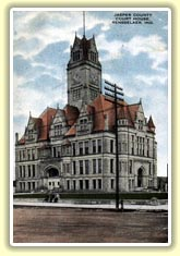 Jasper County, Indiana Courthouse