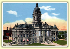 Vanderburgh County, Indiana Courthouse